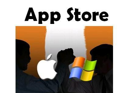 Microsoft se mete en jucios con Apple por considera que el término App Store es genérico