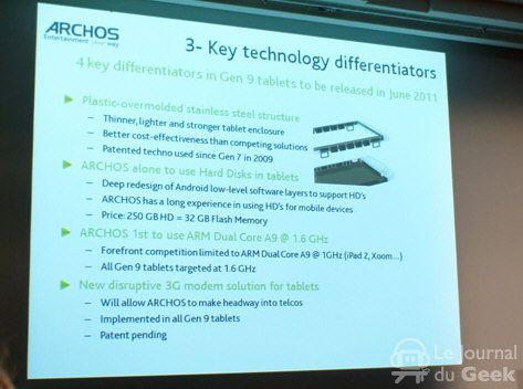 Tablet Archos Gen 9, gran potencia a precio competitivo