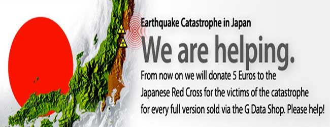 G Data ayuda a las víctimas del terremoto y tsunami de Japón