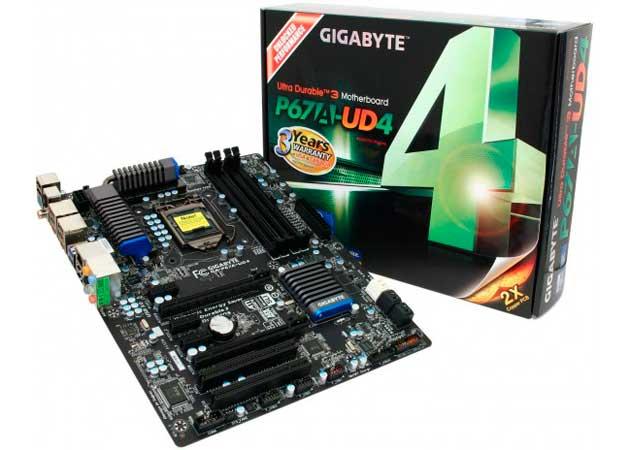 Gigabyte P67A-UD4, calidad y rendimiento a precio razonable