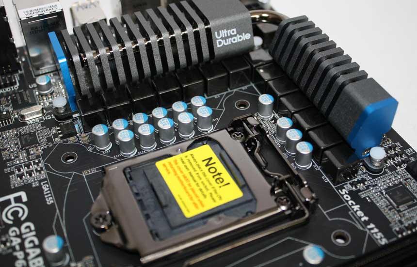 Gigabyte GA P67A UD4 3 Gigabyte P67A UD4, calidad y rendimiento a precio razonable