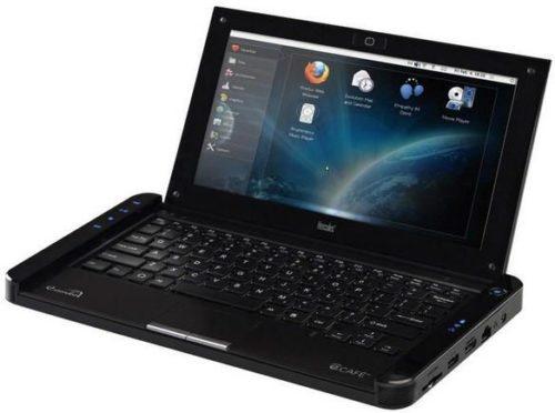 Netbook Hercules eCAFÉ con ARM y Linux 32