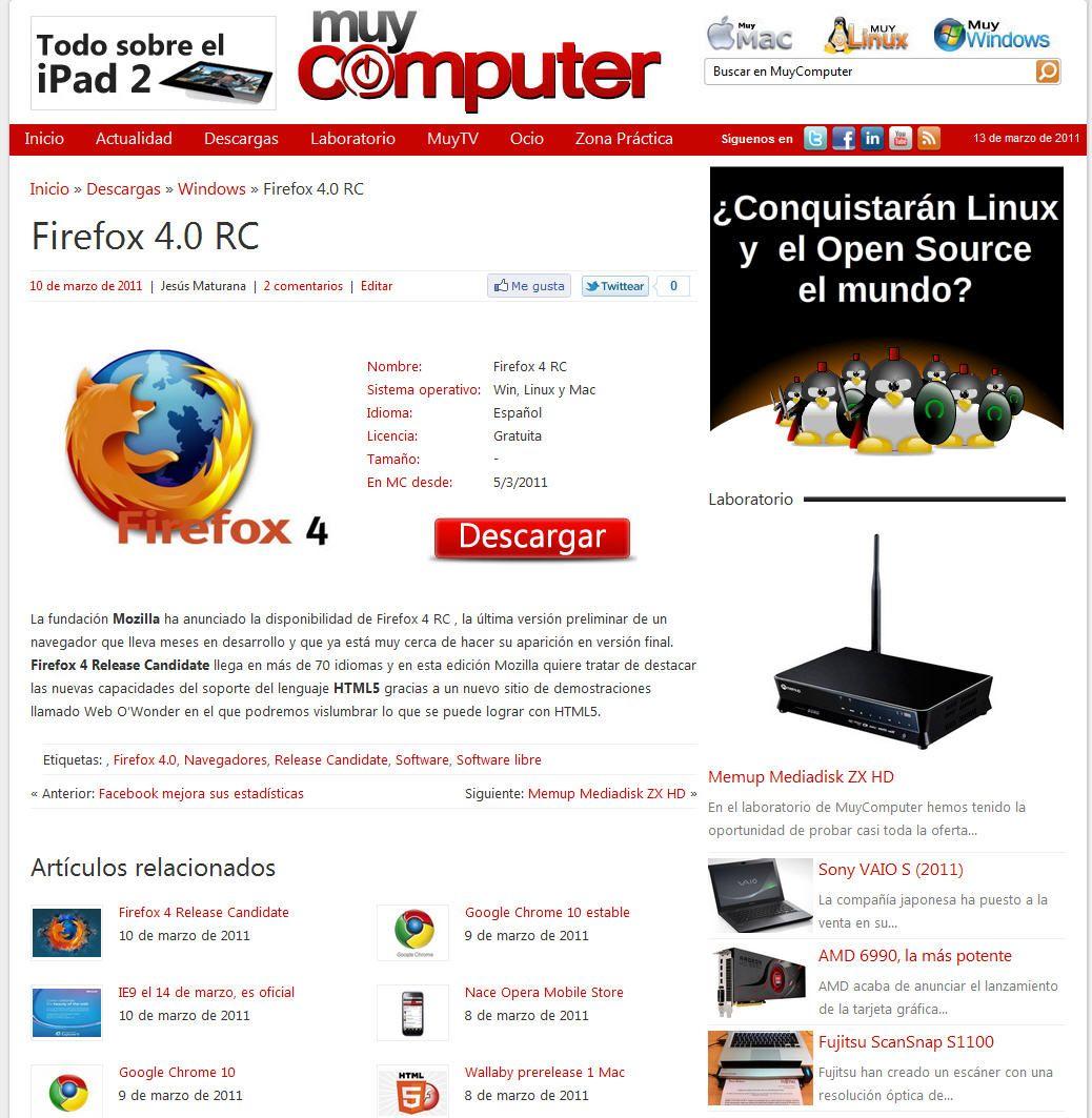 Bienvenidos a MuyComputer 2.0 34