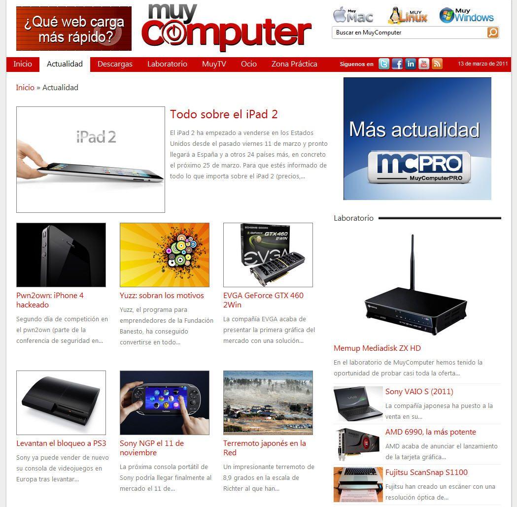 Bienvenidos a MuyComputer 2.0 32