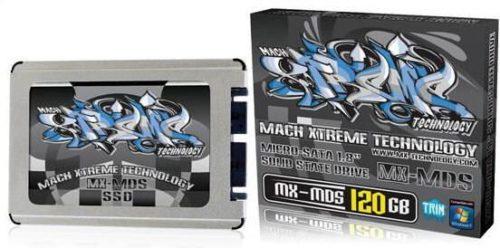 Mach Xtreme presenta SSDs micro-SATA 1,8 pulgadas