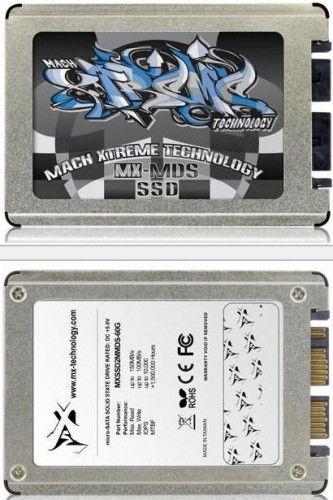 Mach Xtreme presenta SSDs micro-SATA 1,8 pulgadas 30