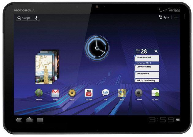 Motorola Xoom el 27 de marzo desde 599 dólares