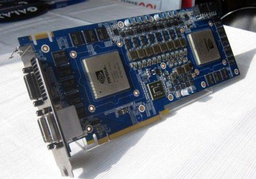 Detalles de la gráfica doble núcleo NVIDIA GeForce GTX 590