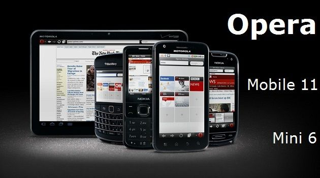 Opera Mobile 11 y Mini 6 llegan al mercado