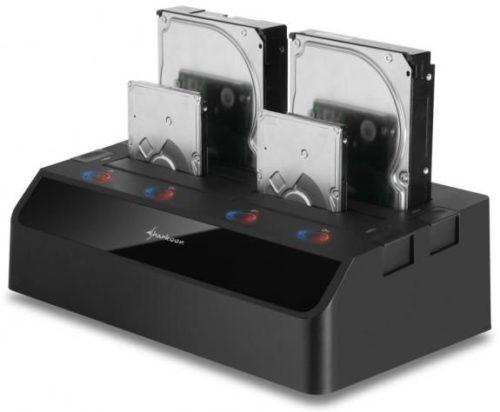 Sharkoon presenta dock externo de almacenamiento HDD/SSD