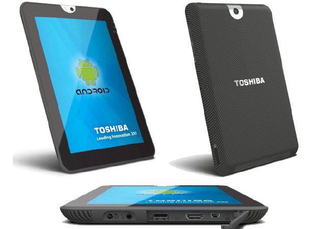 Toshiba presenta la segunda generación de Tablet Android