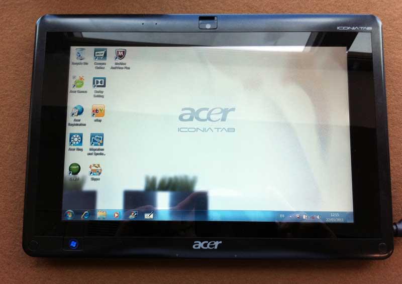 Acer Iconia Tab W500, precio, detalles y características