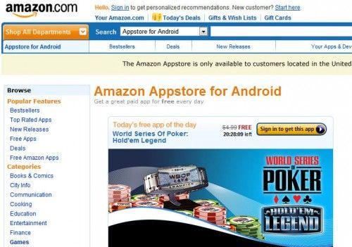 Apple a Amazon: 'App Store' es mío y sólo mío