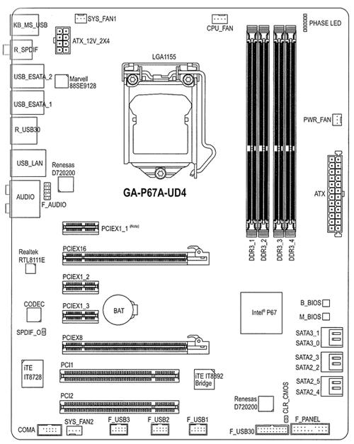 Gigabyte P67A-UD4, calidad y rendimiento a precio razonable 30