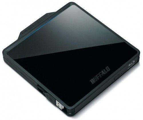 Buffalo ofrece un grabador portable Blu-ray BDXL (128 GB)
