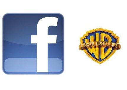Warner amplía catálogo de películas en Facebook