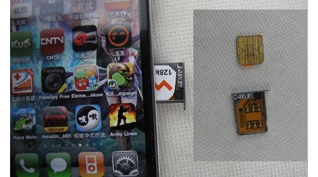 Libera iPhone 4 con Gevey SIM Interposer