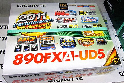 Placa Base Gigabyte 890FXA-UD5 para AMD Bulldozer