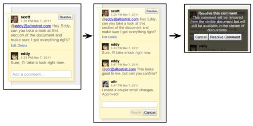 conversaciones en Google Apps