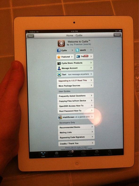 El iPad 2 ya tiene jailbreak 30