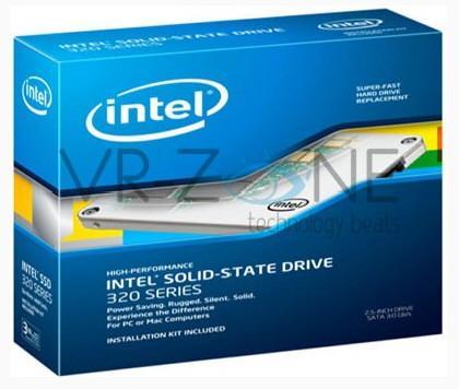 Intel SSD 320 a la venta