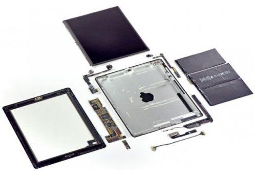 Despiece iPad 2