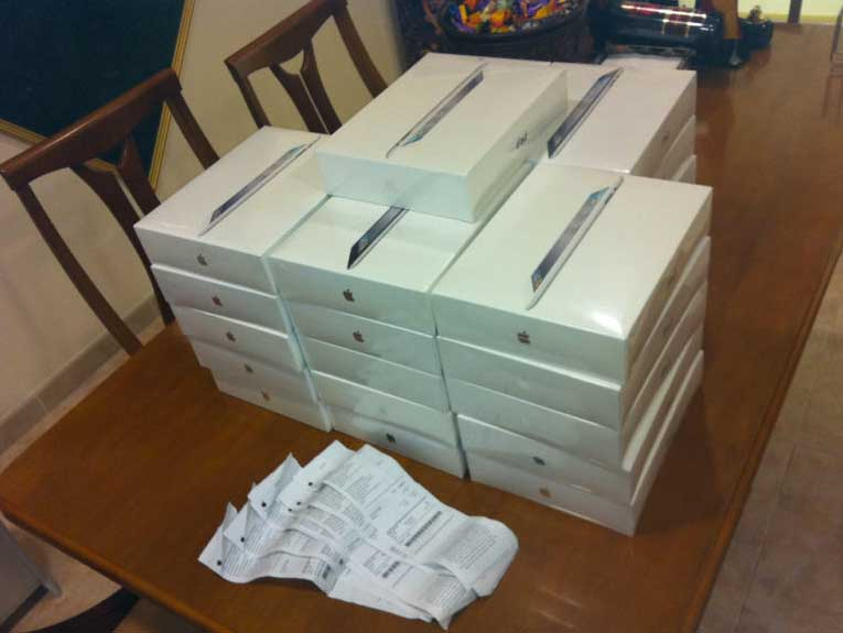 """Mercado negro de iPad 2, la """"reventa"""" triunfa en eBay y Segundamano"""