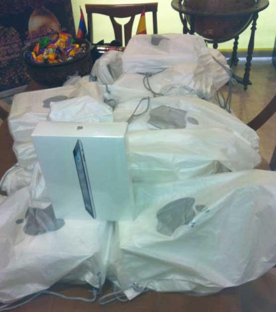 El mercado negro del iPad 2