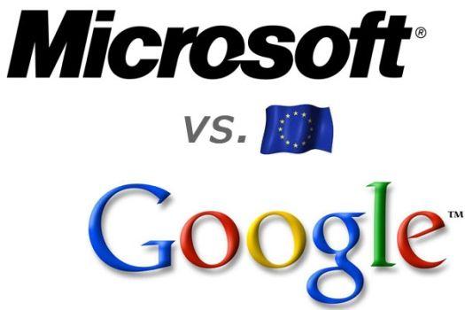 Microsoft va a por Google en la Unión Europea