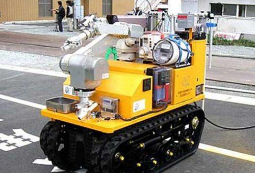 Los robots llegan a la planta nuclear de Fukushima