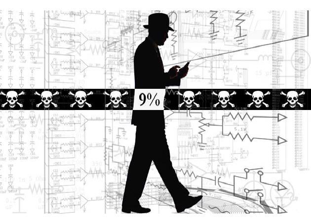 Sólo el 9% de los internautas estadounidenses son 'piratas' P2P