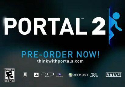 Portal 2, anuncio comercial TV