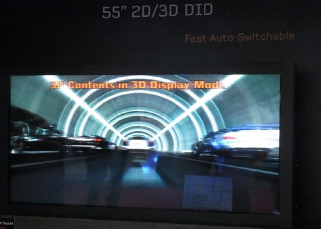 HDTV Samsung 3D sin gafas dentro de tres años