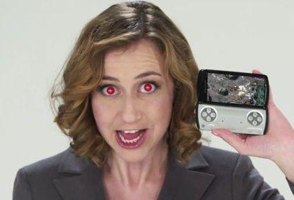 XPERIA Play, anuncios de TV