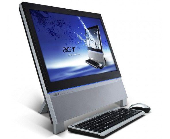 Todo en uno 3D Acer Z5763 listo para Europa
