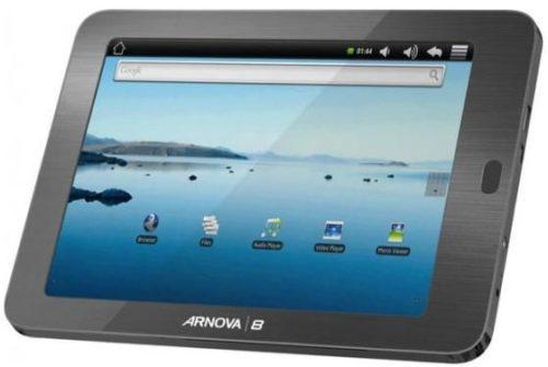 """Archos Arnova 8"""" a la venta, un Tablet para todos los bolsillos"""