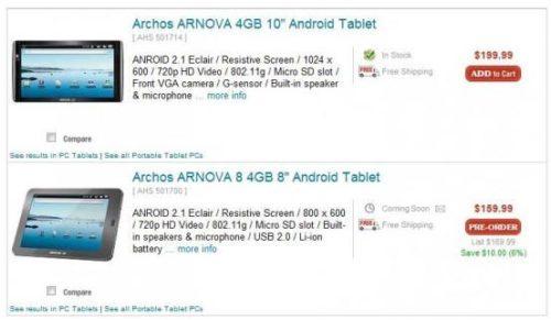 Archos Arnova 8'' a la venta, un Tablet para todos los bolsillos 34