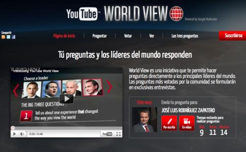 Zapatero responderá a las preguntas de los españoles a través de YouTube