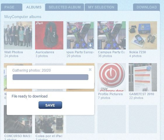 Cómo descargar álbumes de fotos de Facebook 31