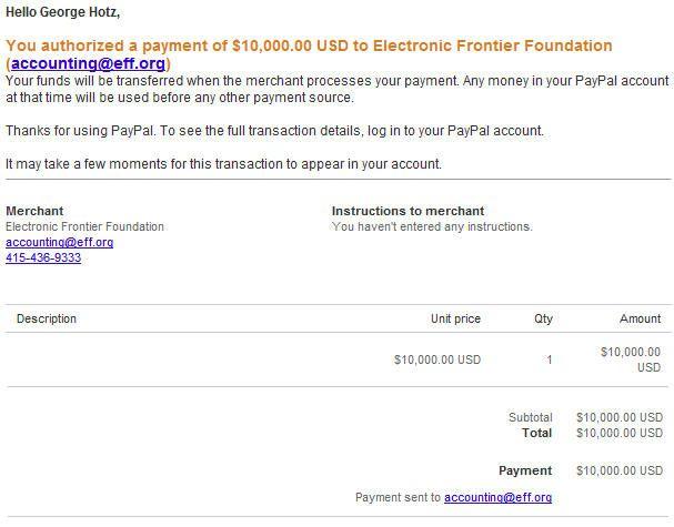 El hacker de PS3 dona 10.000 dólares a la EFF tras el acuerdo con Sony 29