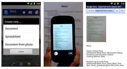 Google Docs nativo para Android 31