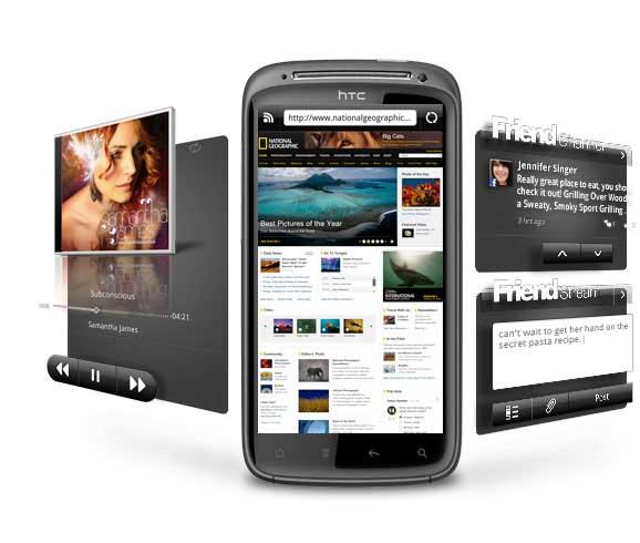 HTC Sensation, smartphone de gama alta con HTC Watch 31