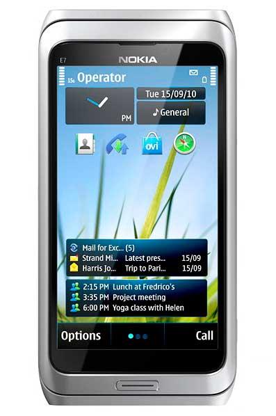 Nokia E7, smartphone avanzado para profesionales 30