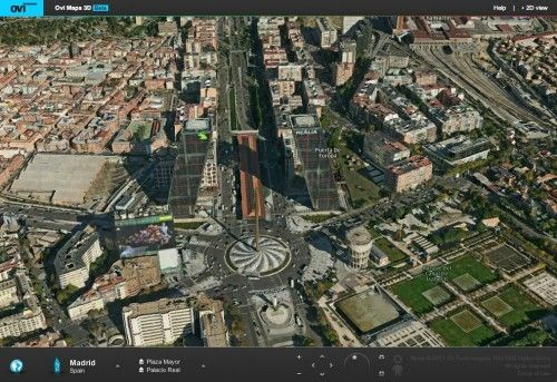 Nokia Ovi Maps 3D, alternativa a Google Earth