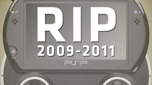 Sony confirma el fin de la producción de la PSP Go