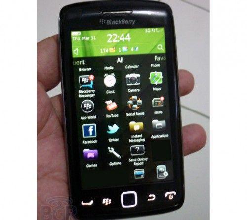 RIM prepara nueva Blackberry Monaco/Monza