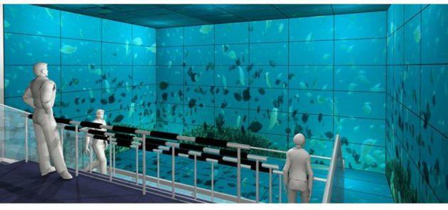 Sharp crea un sistema de visualización con 156 pantallas de 60 pulgadas