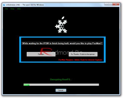 Jailbreak untethered iOS 4.3.3 sin subir baseband en Windows con Sn0wBreeze 2.7.1 32
