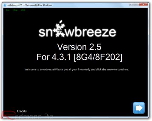 Guía Jailbreak untethered iOS 4.3.1 con Sn0wBreeze -Windows-
