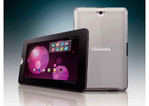 Toshiba anuncia su nueva tablet con Android 3.0